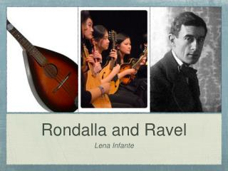 Rondalla and Ravel