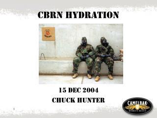 CBRN Hydration