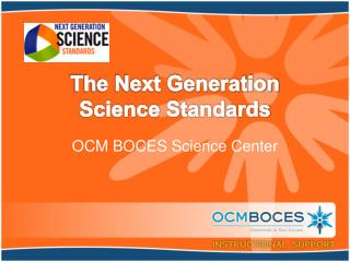 The Next Generation Science Standards