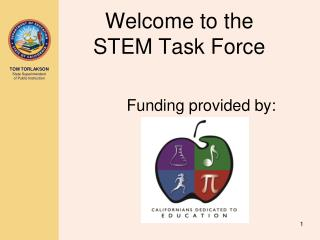 Welcome to the  STEM Task Force