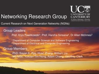 Networking Research Group