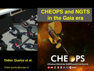 CHEOPS and NGTS  in  the Gaia era