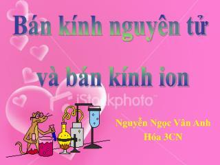 Nguyễn Ngọc Vân Anh Hóa 3CN