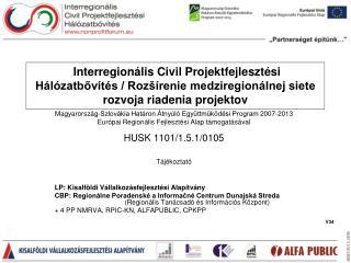 Magyarország-Szlovákia Határon Átnyúló Együttműködési Program 2007-2013