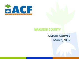 MAKUENI COUNTY