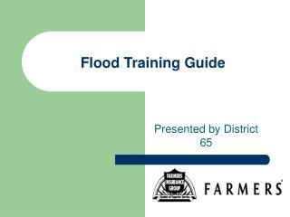 Flood Training Guide