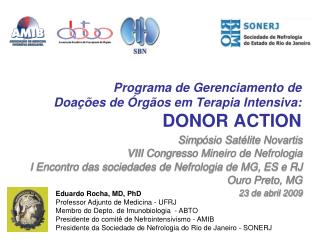 Programa de Gerenciamento de  Doaç ões de Órgãos em Terapia Intensiva: DONOR ACTION