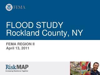 FLOOD STUDY Rockland County, NY
