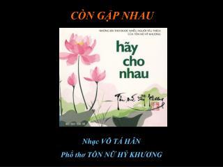 C�N G?P NHAU
