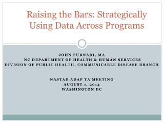 Raising the Bars: Strategically Using Data Across Programs