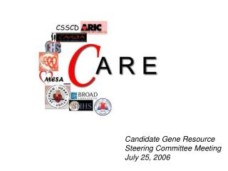 Candidate Gene Resource Steering Committee Meeting July 25, 2006