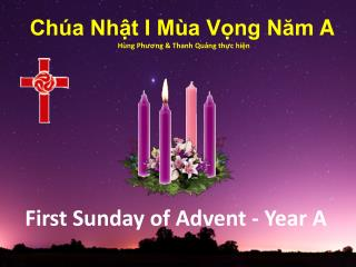 First Sunday of Advent - Year A
