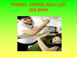 PH�NG, CH?NG B?O L?C  GIA ?�NH