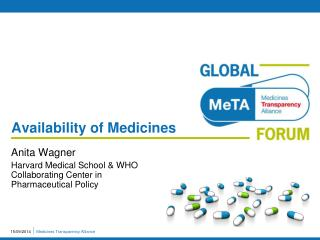 Availability of Medicines