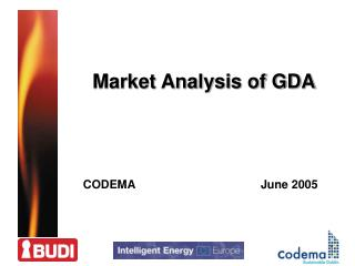 Market Analysis of GDA