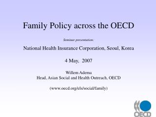 Family Policy across the OECD