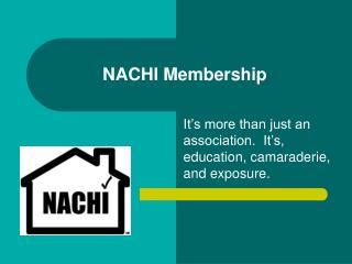 NACHI Membership