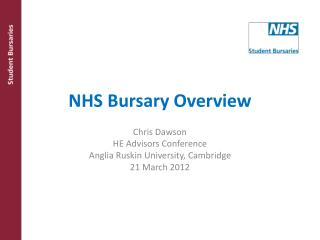 NHS Bursary Overview