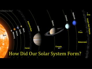 How Did Our Solar System Form?