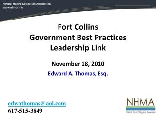 Fort Collins Government Best Practices Leadership Link