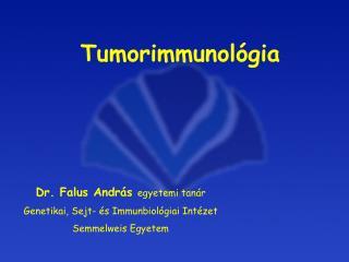 Tumorimmunológia