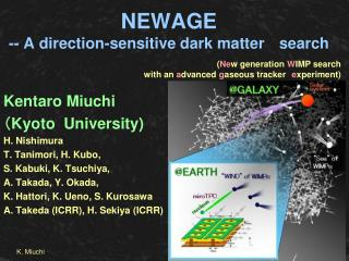 NEWAGE  -- A direction-sensitive dark matter  search