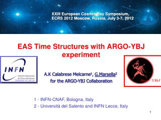 EAS Time Structures with ARGO-YBJ experiment
