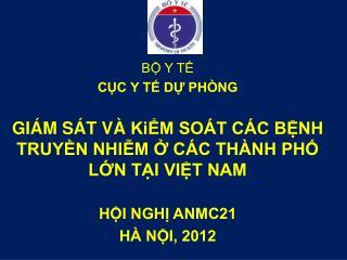 BỘ Y TẾ CỤC Y TẾ DỰ PHÒNG