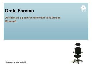 Grete Faremo