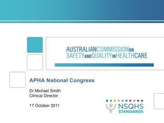 APHA National Congress