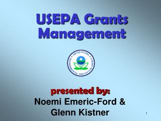 USEPA Grants Management