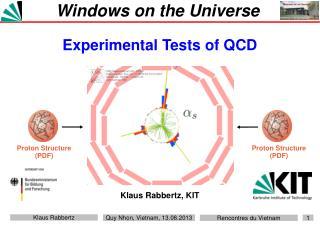 Windows on the Universe