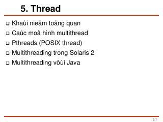 5. Thread
