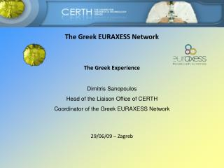 The Greek EURAXESS Network
