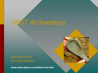 ODOT Archaeology