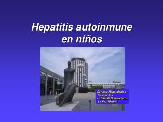 Hepatitis autoinmune en ni�os