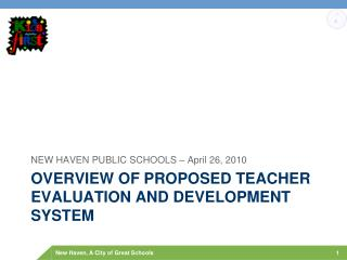 Overview of Proposed Teacher evaluation and development system