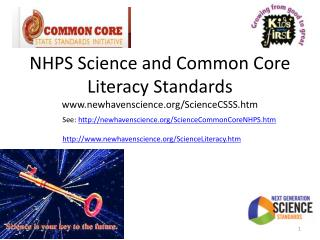 NHPS Science and Common Core  Literacy Standards newhavenscience/ScienceCSSS.htm