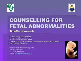 COUNSELLING FOR FETAL ABNORMALITIES