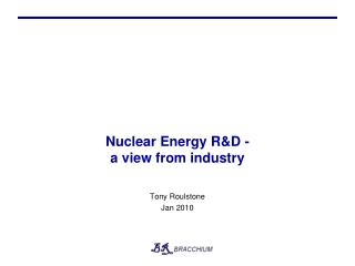 Nuclear Energy RD -  a view from industry