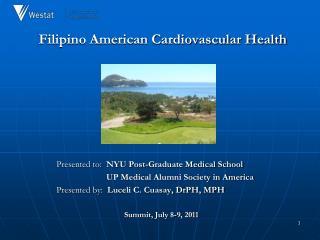 Filipino American Cardiovascular Health
