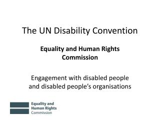 The UN Disability Convention