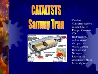 CATALYSTS Sammy Tran