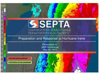 Preparation and Response to Hurricane Irene