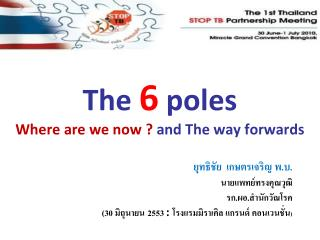 The  6  poles Where are we now ?  and The way forwards