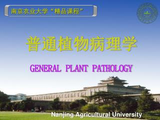 Nanjing Agricultural University