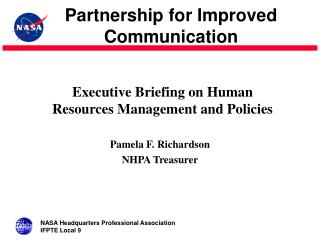 Executive Briefing on Human Resources Management and Policies