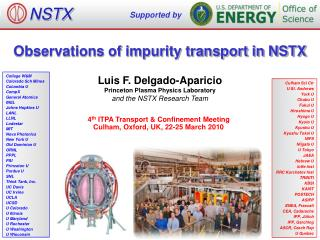 Observations of impurity transport in NSTX