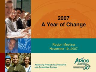 2007 A Year of Change
