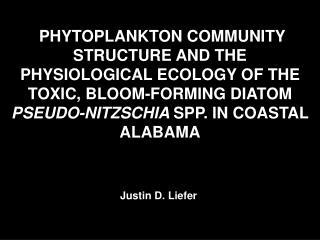 Justin D. Liefer